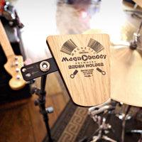 Magnobuddy - Magnobuddy. The Original Magnetic Drummers Brush Holder. Mark 1