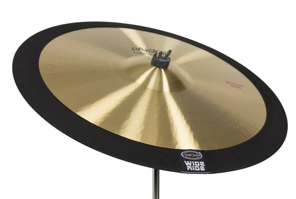 WIDE RIDE - Cymbomute WIDE RIDE 22/23 Inch Ride Cymbal Mute (Pad Dampener Silencer)