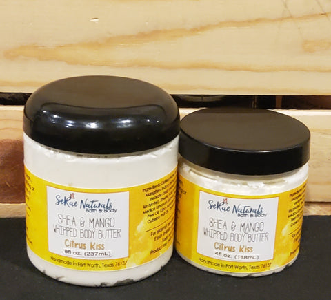 Shea and Mango Whipped Body Butter
