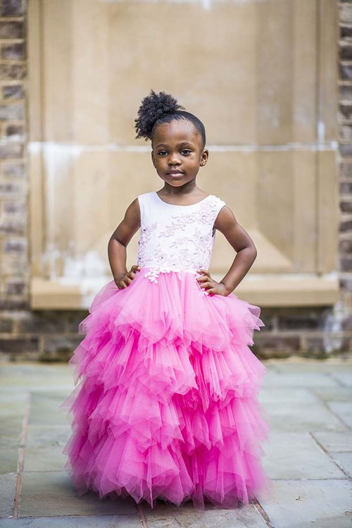Tulle Special Occasion Kids Dress