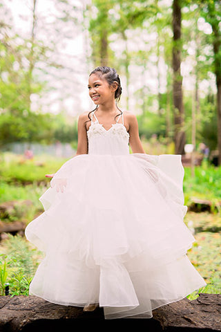 Junior Bride Girls Dress