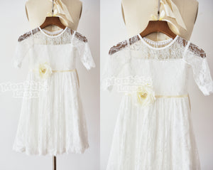 Angelic Lace Dress