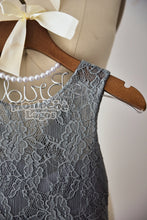 Load image into Gallery viewer, Gray Lace Dress
