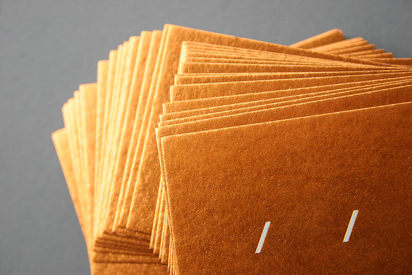Andy Cooke letterpress and metallic hotfoil business cards