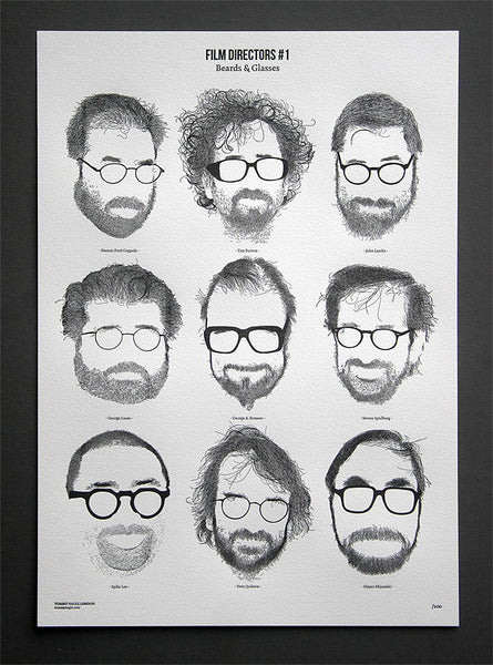 Film Directors with Beards and Glasses