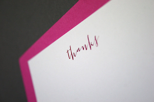 Carmen set of 10 thank you notecards