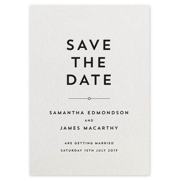 Edmondson Save the Date