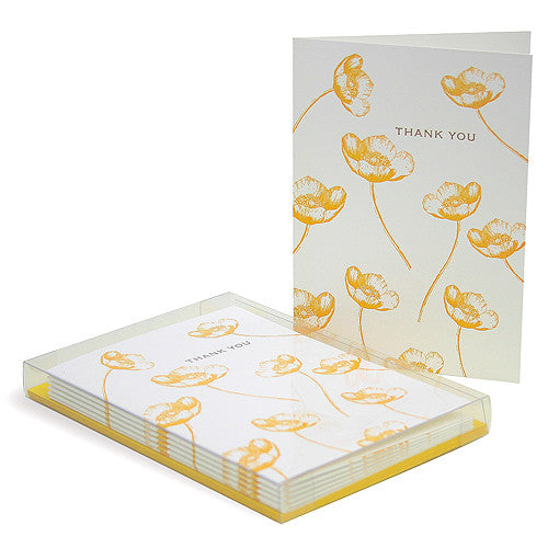 Buttercup Thank You Cards