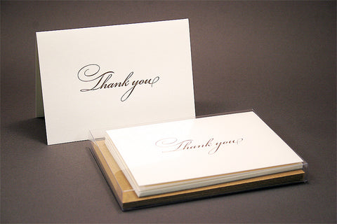 Bickham Thank You Cards