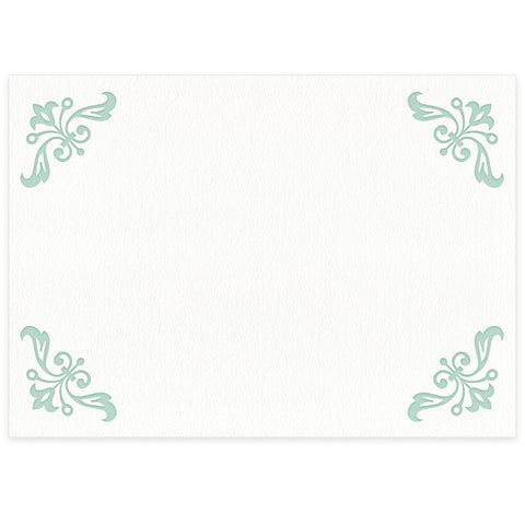Fleuron place card