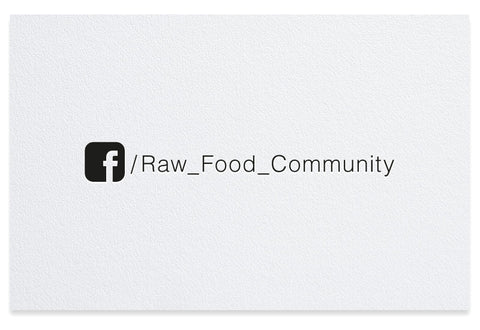Facebook letterpress business card