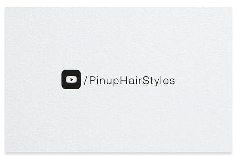 Youtube icons letterpress business cards