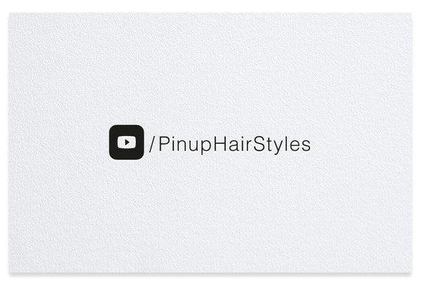Youtube letterpress business card