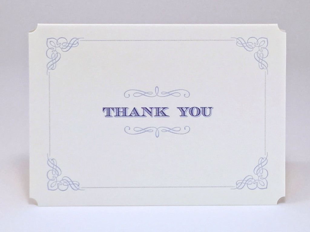 Wedgewood Thank You Card