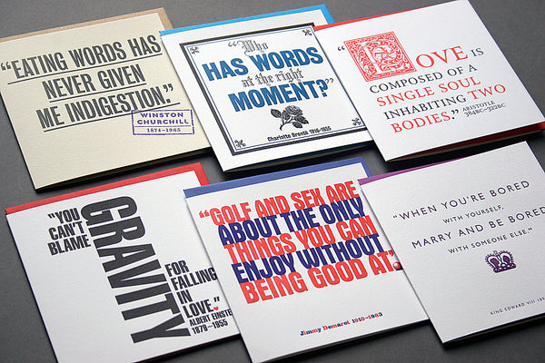Quotes Assorted Occasions Cards Pack