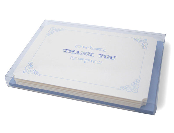 Wedgewood thank you cards