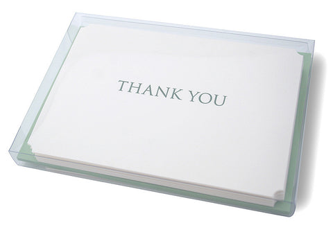 Trajan thank you cards boxset