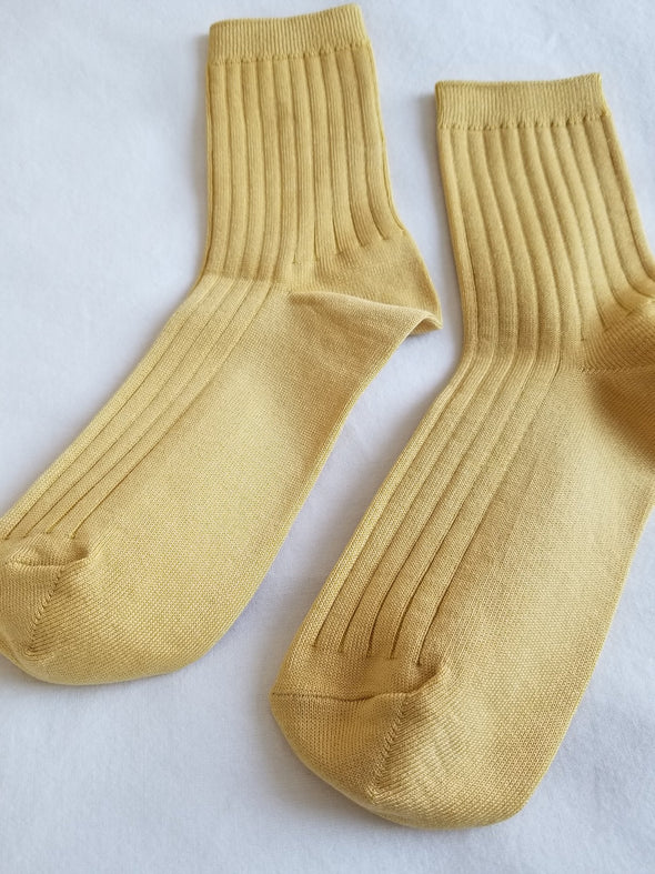 Her Socks (MC Cotton) - Buttercup