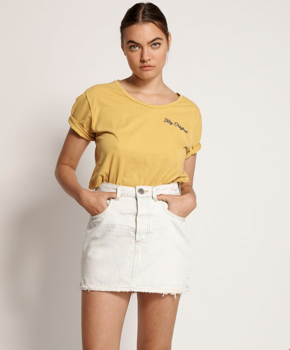 2020 Mini High Waist Denim Skirt - Brando