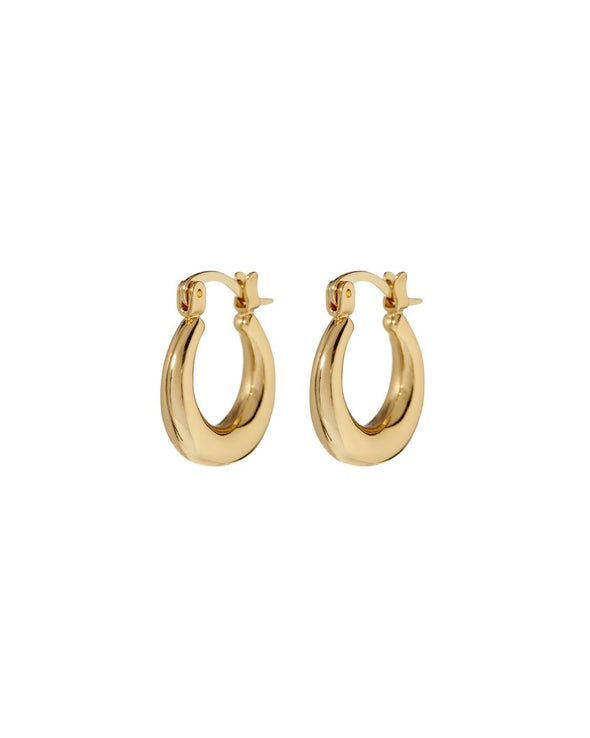 Mini Martina Hoops - Gold