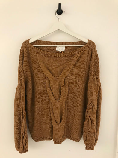 Paris Sweater - Rust
