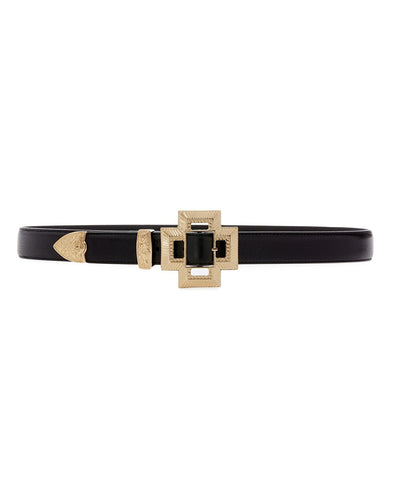 Cross Buckle Belt