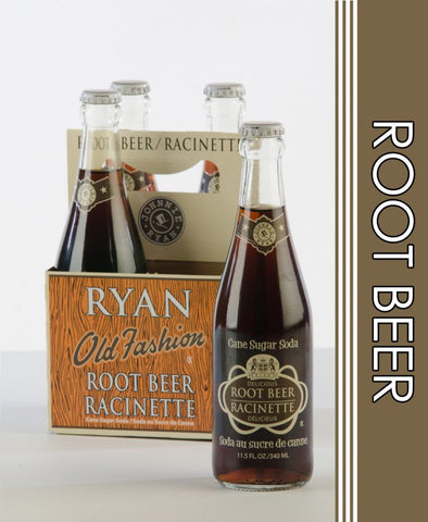 Johnnie Ryan Root Beer - (4pk) Glass