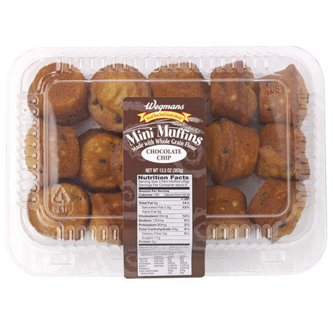Wegmans Mini Muffins Blueberry or Chocolate Chip (12oz)
