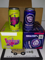 Aunt Rosies Loganberry 12-Pack (Cans) - BuffaloINaBox.com: Buffalo, NY Food Shipped