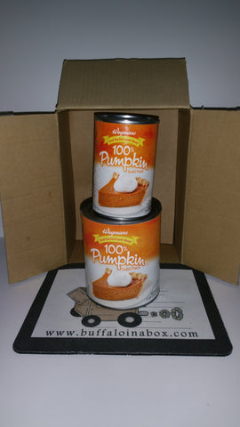 Wegmans 100% Pumpkin PIE - Solid Pack