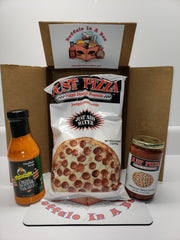 Just Pizza Buffalo Pizza DIY Care Package- Dough + Sauce's