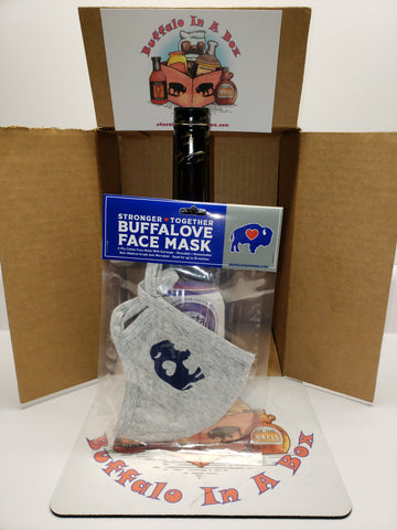 BuffaLove FaceMask (Stronger-Together) #StaySafe