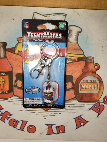 TeenyMates Clip-On Buffalo Bills Keychain