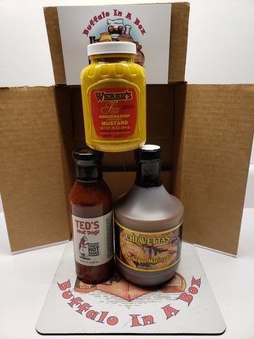 The Buffalo GRAB-N-GO Webers, Chiavettas & Teds Hot Dogs