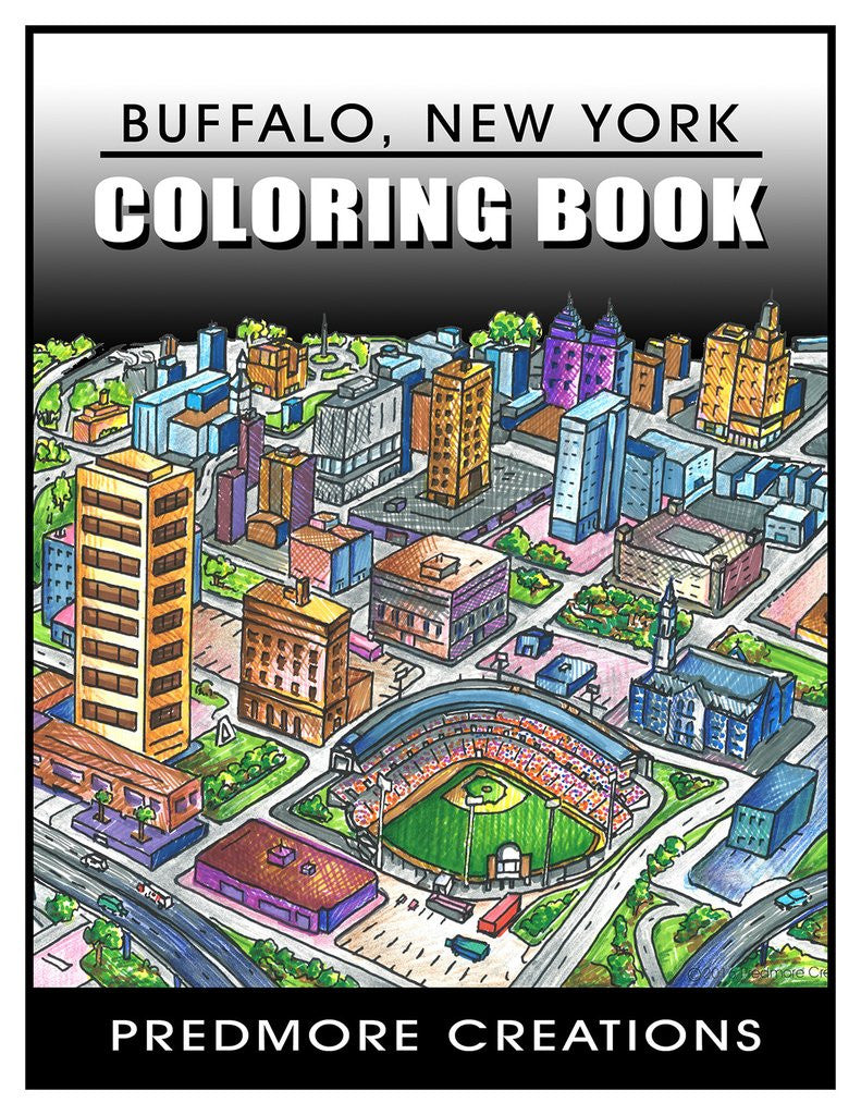 Coloring Book Buffalo Ny