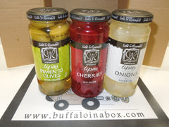 WNY Boozin Box -Cherry's, Olive's & Onions - BuffaloINaBox.com: Buffalo, NY Food Shipped