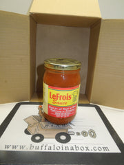 Jet's Le-Frois Sauce -Glass - BuffaloINaBox.com: Buffalo, NY Food Shipped