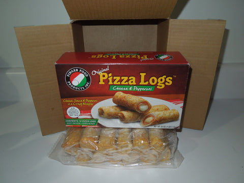 The Original Pizza Logs -Cheese & Pepperoni
