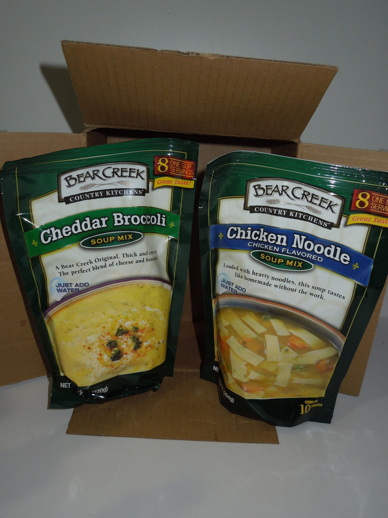 Bear Creek Country Kitchens Cheddar Broccoli Soup Mix 11oz Bag Buffaloinabox