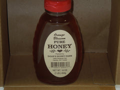 Doan's Honey Farm- Orange Blossom Pure Honey (16oz.) Bottle - BuffaloINaBox.com: Buffalo, NY Food Shipped