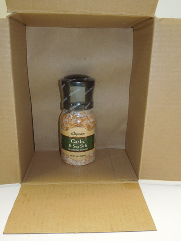 Wegmans -Garlic & Sea Salt (8.8oz) Grinder