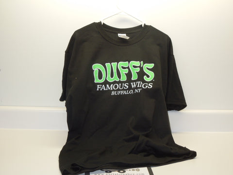Duff's Famous Wings : T-Shirt (Black)
