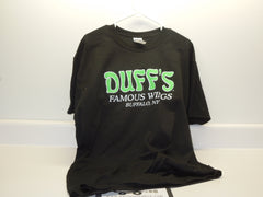 Duff's Famous Wings : T-Shirt (Black) - BuffaloINaBox.com: Buffalo, NY Food Shipped