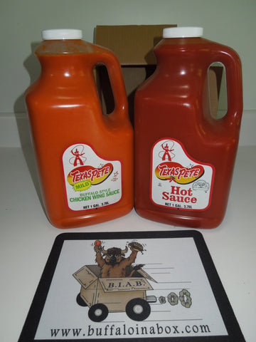 Texas Pete's -Hot Sauce (Gallon) Plastic