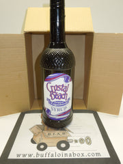 PJ's Crystal Beach Original Loganberry Syrup (1 Liter) Plastic - BuffaloINaBox.com: Buffalo, NY Food Shipped