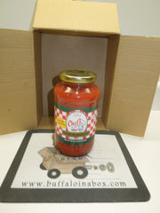 Chefs Pasta Spaghetti Sauce (24 oz) Glass - BuffaloINaBox.com: Buffalo, NY Food Shipped