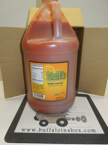 Duff's Famous Buffalo Wings -Hot Sauce (1-Gal) Jug