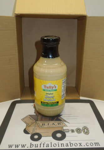 TULLY'S HONEY MUSTARD DIPPING SAUCE (16oz) Glass