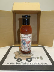 KTB's Bucking Pig BBQ Sauce (12oz) Glass - BuffaloINaBox.com: Buffalo, NY Food Shipped