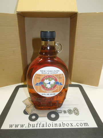 Pure NYS Maple Syrup (12oz) Glass